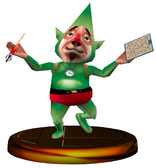 Tingle Trophäe Melee.png