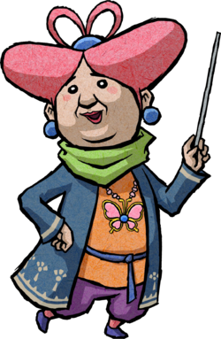 Madame Marie Artwork (The Wind Waker).png