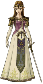Prinzessin Zelda in Twilight Princess