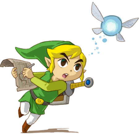 Artwork Link (Phantom Hourglass).png