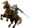 Artwork Link und Epona (Twilight Princess).png